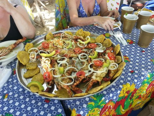 Homard-Haiti-Port Salut-Sud- Tourisme- Plage