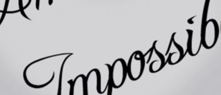 Article : A notre amour impossible !